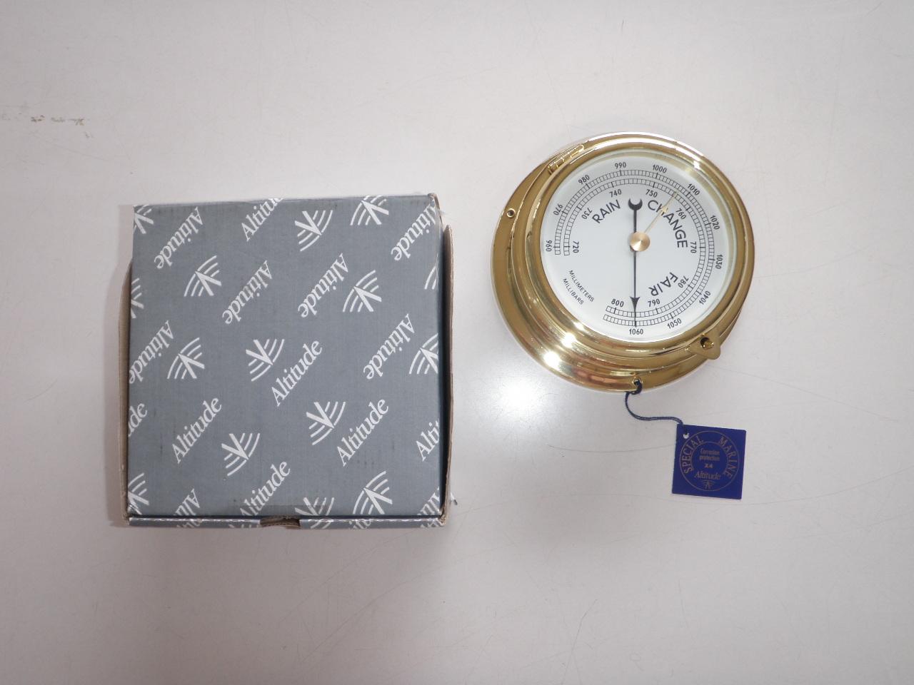バロメーター(気圧計)