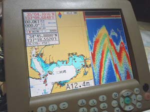 GPS魚探FEG-881【50/200kH】