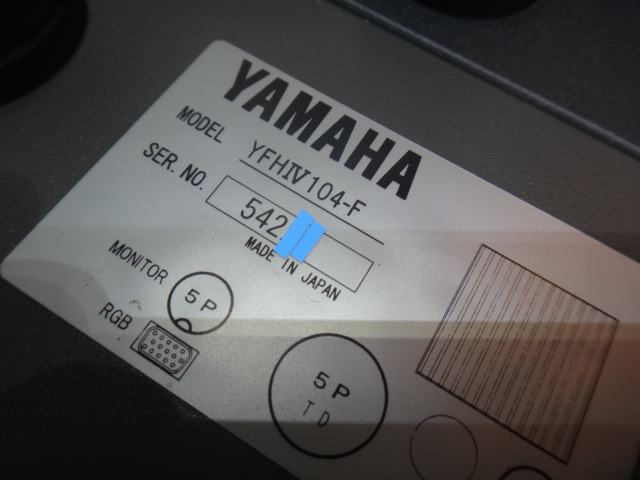 ♦HONDEX・ヤマハYFHⅣ 104-F