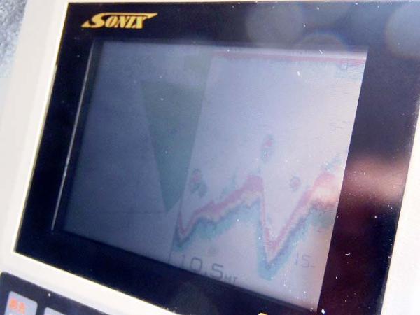中古GPS魚探【SSV-31】