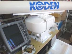 船舶オープンレーダー