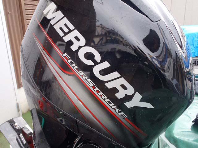 ◆MERCURY・4スト60馬力船外機【新古品】